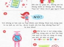 10 quy tắc an toàn giúp bố mẹ dạy con bảo vệ bản thân