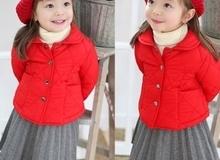 Mách mẹ cách chọn áo khoác mùa đông thật chuẩn cho bé