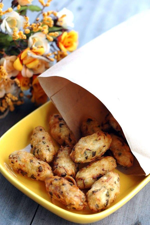 Xuýt xoa với món bánh cay giòn thơm dân dã - Món ăn ngon