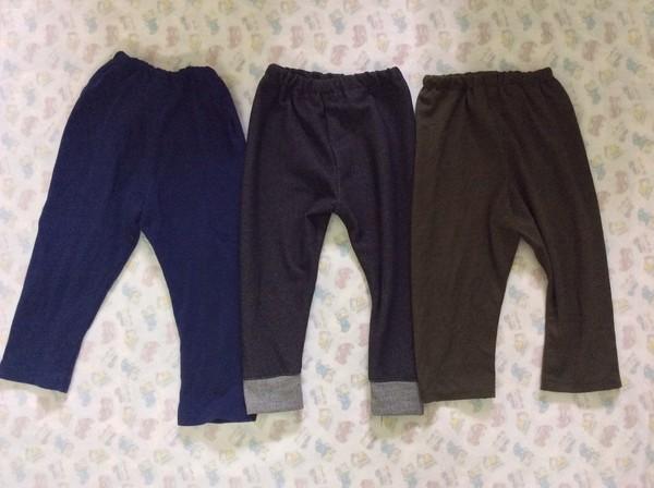 Với 20.000đ tiền vải, mẹ may 3 quần dài cho bé mặc mùa đông! 13