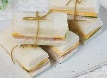 2 món ăn sáng nhanh ngon với bánh sandwich