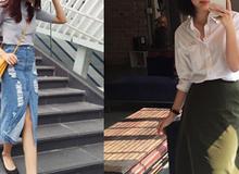 4 kiểu chân váy