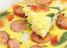 Thử món trứng Frittata kiểu Ý ăn lạ mà quá ngon!