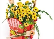 2 cách cắm hoa trang trí cho gian bếp thêm xinh