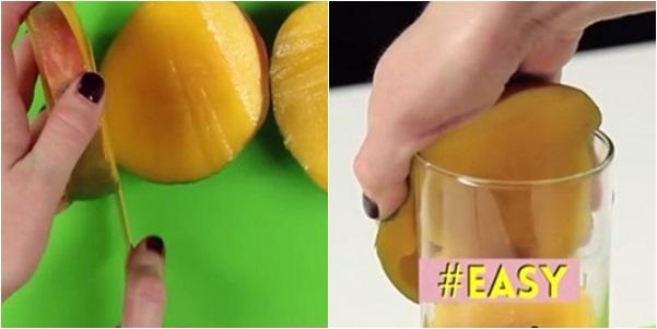 Cách cắt trái cây đúng