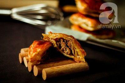 Pate Chaud - món bánh ăn sáng nóng hổi từ nước Pháp - Làm bánh