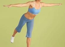4 động tác giúp vòng bụng săn chắc sau sinh