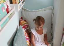 Những góc phòng lý tưởng cho trẻ trong nhà chật