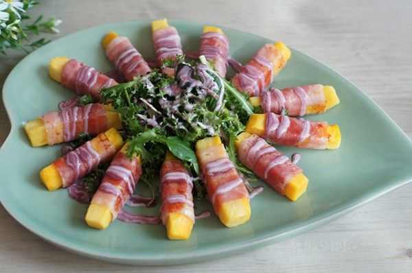 Khai vị hoàn hảo với salad khoai lang ngon đẹp - Món ăn ngon