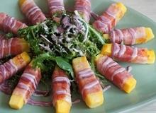 Khai vị hoàn hảo với salad khoai lang ngon đẹp
