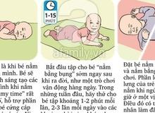 Nằm sấp và những tác dụng tuyệt vời đối với bé sơ sinh