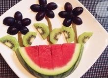 9 cách cắt xếp trái cây nhanh - đẹp cho mẹ vụng trổ tài
