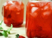 Soda dâu ngọt thơm ngon miệng lại giúp giảm cân