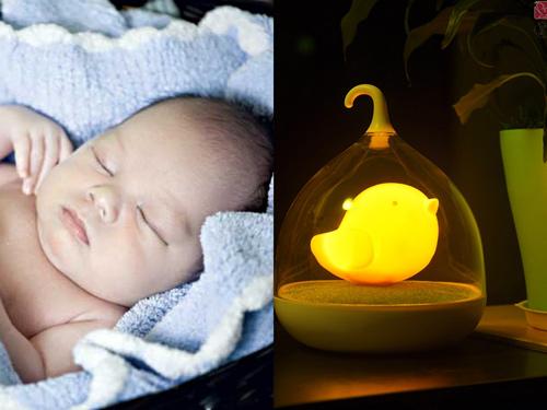 Tai hại 'giật mình' khi để trẻ sơ sinh ngủ dưới ánh đèn - 1