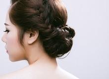 Mách nước cho nàng tóc vừa dài vừa dày tránh nóng với 2 kiểu tóc tết búi
