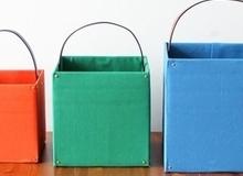 Làm giỏ đựng đồ gọn gàng tiện lợi từ thùng carton