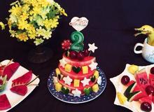 Cắt xếp trái cây bày tiệc ngọt sinh nhật siêu tiết kiệm