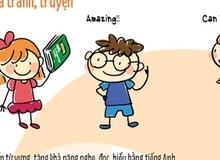 Trẻ mẫu giáo học tiếng Anh như thế nào