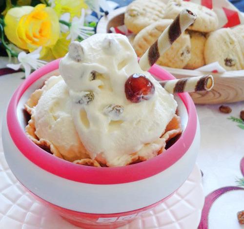 Tự làm kem nho khô mát lạnh ngày nắng - 7