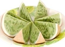 Bánh flan trái dừa thạch lá dứa