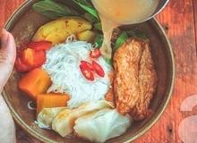 Món ngon cuối tuần: Bún chả cá Đà Nẵng