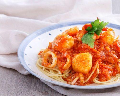 Mì Ý sốt hải sản hấp dẫn cả nhà - Món ăn ngon