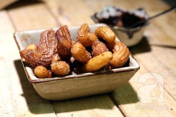 Bánh quẩy Churros thơm giòn tuyệt ngon - Làm bánh