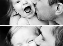 Bố và con gái: Những shoot hình khiến trái tim