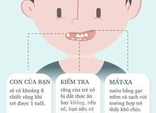 Điều bố mẹ cần biết khi chăm sóc răng miệng cho bé dưới 2 tuổi