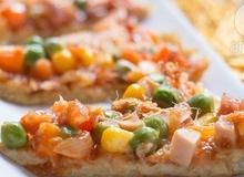 Dùng khoai tây làm bánh Pizza siêu tốc mà không cần lò nướng