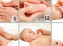 Từ A-Z các bước mát-xa cho trẻ sơ sinh bố mẹ nên biết