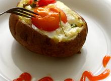 Khoai tây nướng phô mai thơm lừng siêu hấp dẫn
