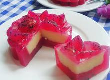Bánh Trung thu rau câu nhân đậu xanh