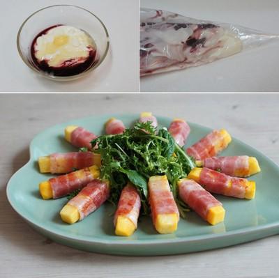 Khai vị hoàn hảo với salad khoai lang ngon đẹp 10