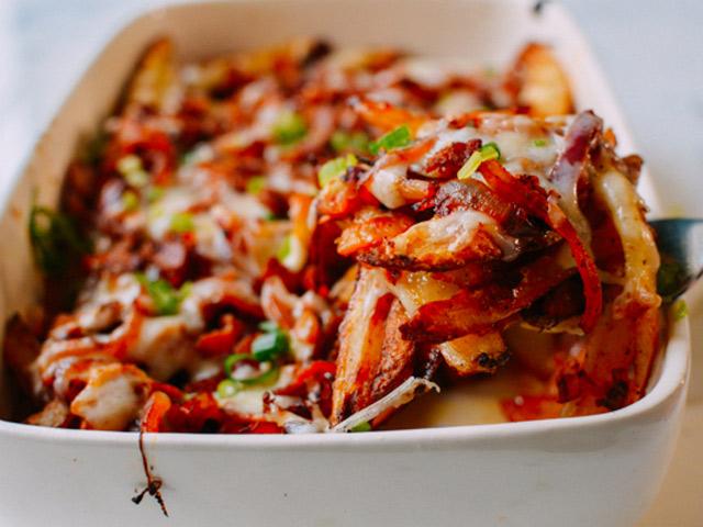 Kim chi nướng pho mát, khoai tây lạ miệng - 8