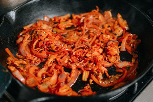 Kim chi nướng pho mát, khoai tây lạ miệng - 5