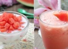 2 loại đồ uống từ dưa hấu cực ngon giải nhiệt mùa hè