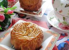 Bánh Trung thu nướng nhân dừa vụn