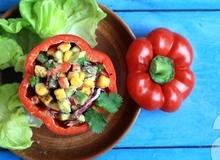 Salad mùa xuân ngon miệng và đầy màu sắc