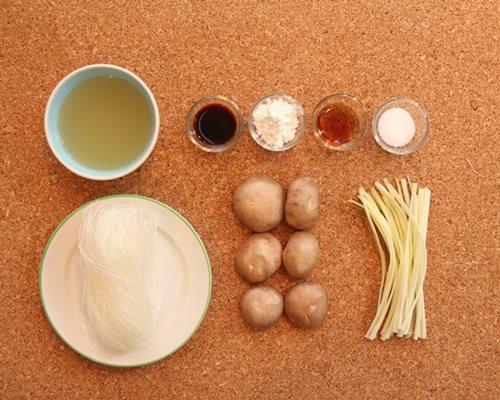 Miến nấu nấm giản đơn cho bữa sáng - 1