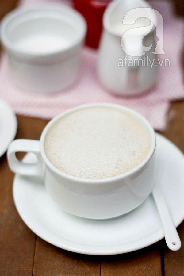 Tự pha Cappuccino sánh mịn thơm ngon như ở tiệm - Món giải khát