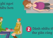 7 cách đơn giản giúp mẹ bầu giảm căng thẳng khi mang thai