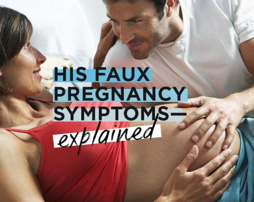 Vì sao đàn ông có triệu chứng nghén khi vợ mang bầu - Cuộc sống lúc mang thai