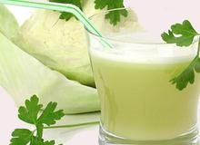 Chữa bệnh loét dạ dày, tá tràng bằng rau bắp cải