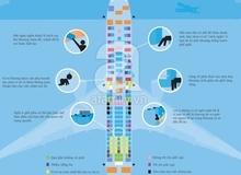 Cách chọn chỗ an toàn và phù hợp cho trẻ khi đi máy bay