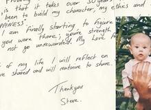 Xúc động bức thư giấu kín của cậu con trai đã qua đời 10 năm gửi bố mẹ