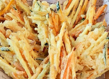 Làm tempura rau củ vừa giòn vừa ngon ai ăn cũng thích
