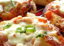 """Pizza cá hồi vừa ngon, vừa """"chất"""" cho bé"""