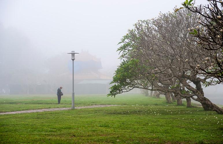 Người đàn ông trong sương