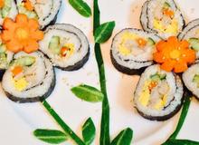 Mách bạn 5 cách trang trí món ăn thành những bó đẹp lung linh cho ngày 20-10 thêm rực rỡ